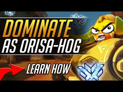 How to DOMINATE with Orisa + Hog COMBO - Orisa Roadhog Pro Tips Gameplay Guide| Overwatch Guide