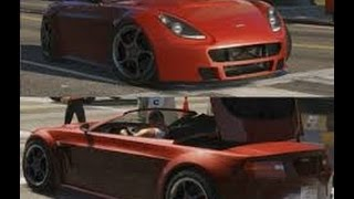 How To Put The Roof Up/Down On Convertible Cars In GTA V