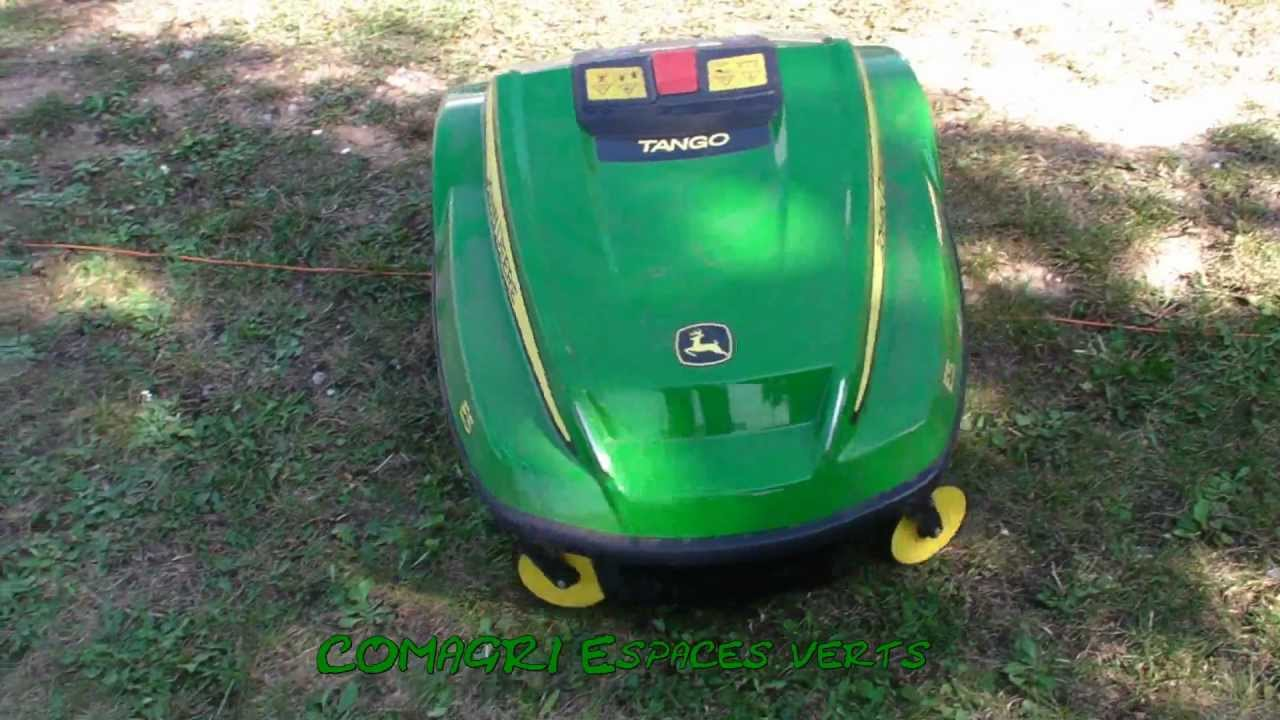 tango e5 tondeuse john deere new mower youtube. Black Bedroom Furniture Sets. Home Design Ideas