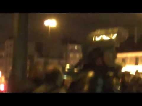 à la Bastille et à la Main d'or le 16/01/14