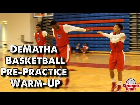 DeMatha Basketball Pre-Practice Warm-Up