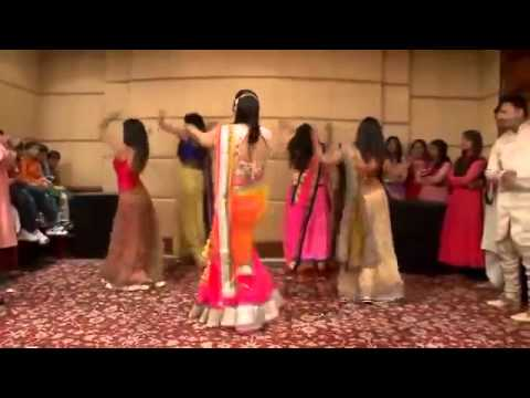 Best Wedding Dance Performannce 2014 !! Radha Radha !! Mahila Sangeet  !! Hot Alia Bhatt