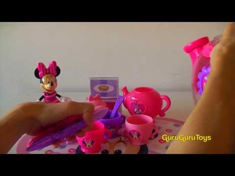 Disney Minnie Mouse Bow-Tique Large Teapot Play Set Unboxing 2013