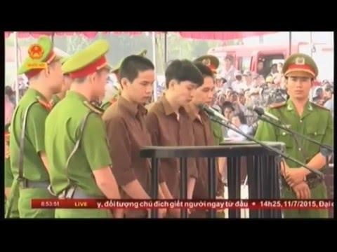 Phiên tòa xử án vụ thảm sát tại Bình Phước