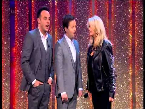 bonnie tyler on saturday night takeaway 22nd march 2014