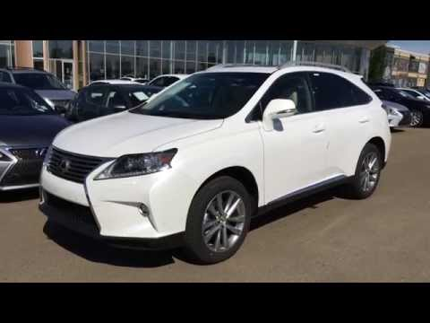 2015 Lexus RX 350 AWD White on Parchment - Technology Package Review - Alberta