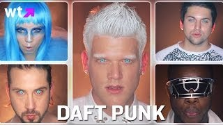 Pentatonix Create A Daft Punk Medley | What's Trending Now