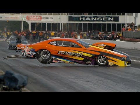 Dan Stevenson Crash @ 2014 NHRA Atlanta