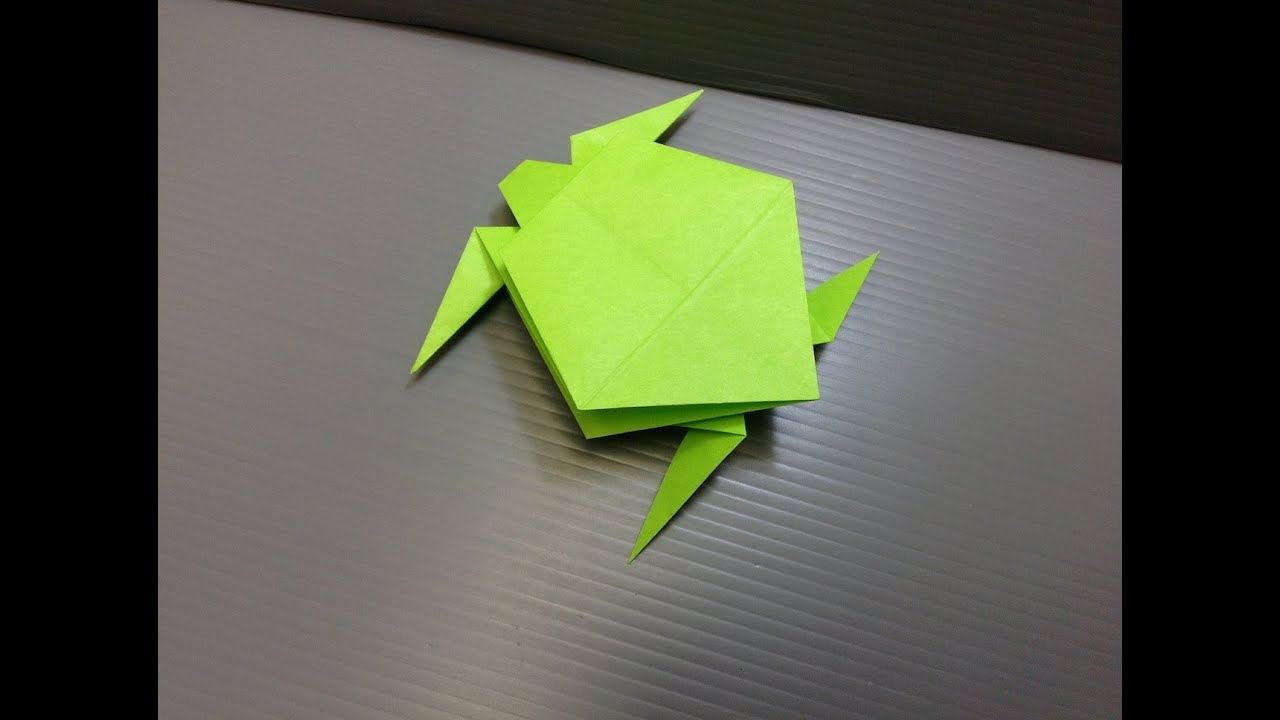 daily origami  095 - turtle