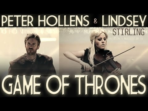 Lindsey Stirling - Game of Thrones cover ft. Peter Hollens