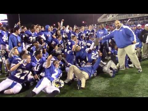 Suffolk County Championships: Riverhead Blue Waves v. East Islip Redmen