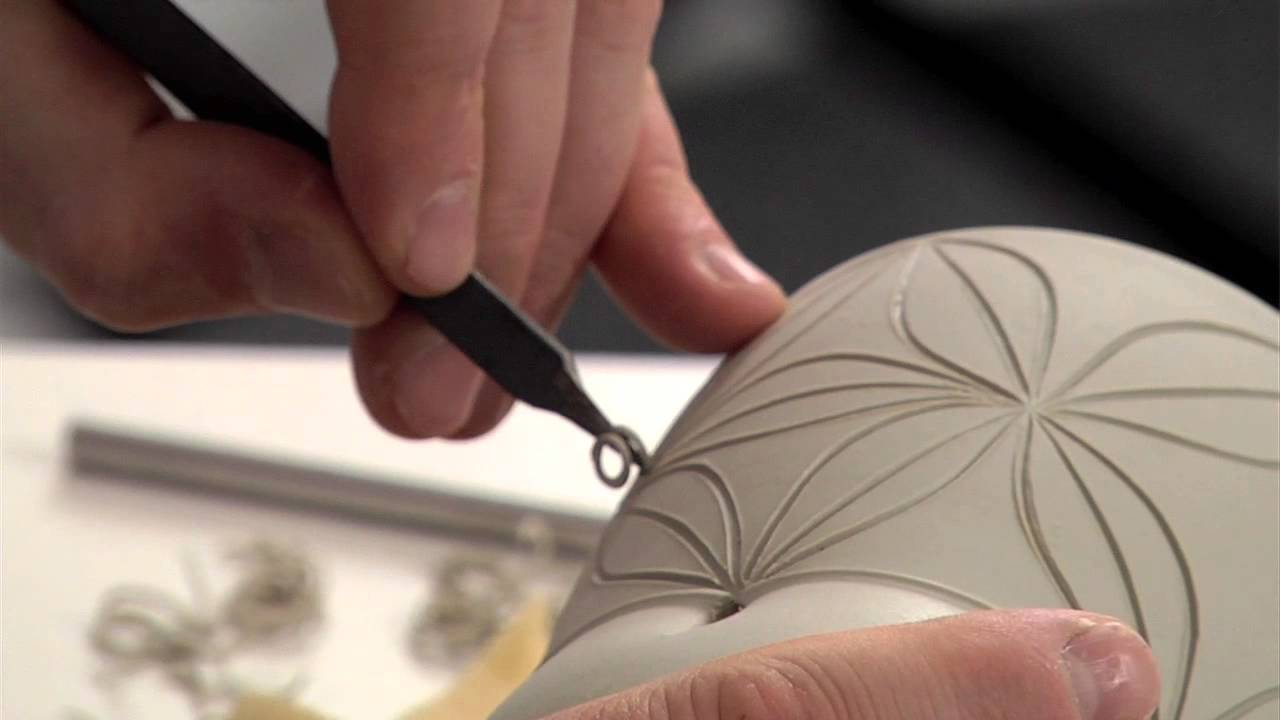 Pottery video carving with care how to carve exquisite