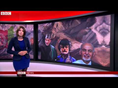 BBC News Afghan poll crisis: John Kerry to meet with candidates