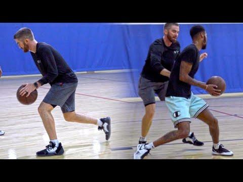 Basketball Skills Training: Scoring Off The Dribble