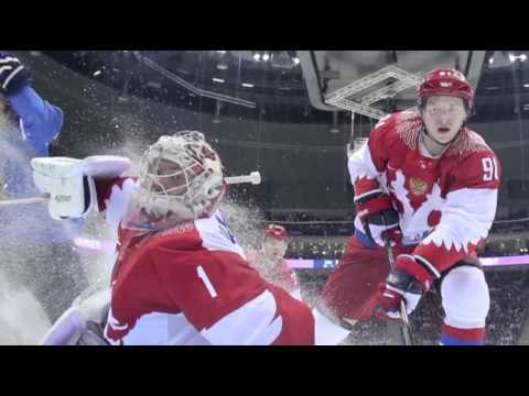 Russia Out, US and Canada Win in Men's Hockey