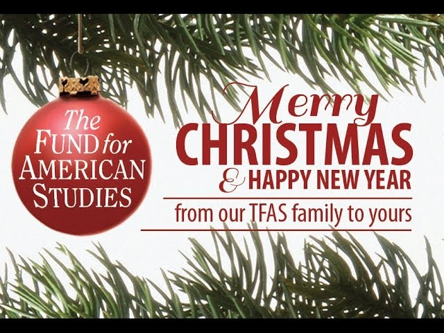 Merry Christmas and Happy New Year from TFAS