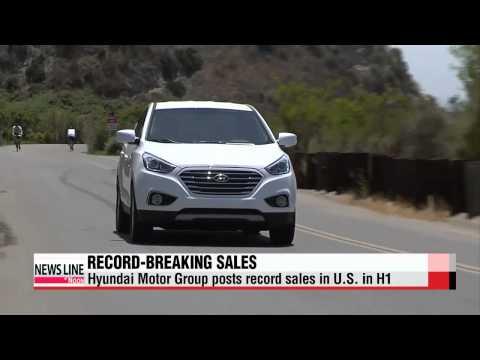 Hyundai Motor Group posts record sales in U.S. in H1