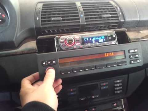 Installing Aftermarket Hu In Bmw Retaining Dsp Amp Youtube
