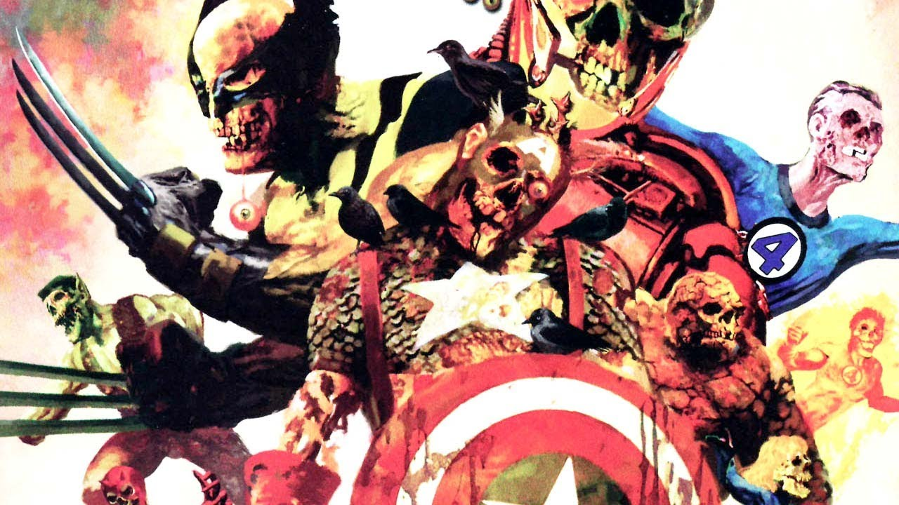 Marvel zombies pic free online pron clip