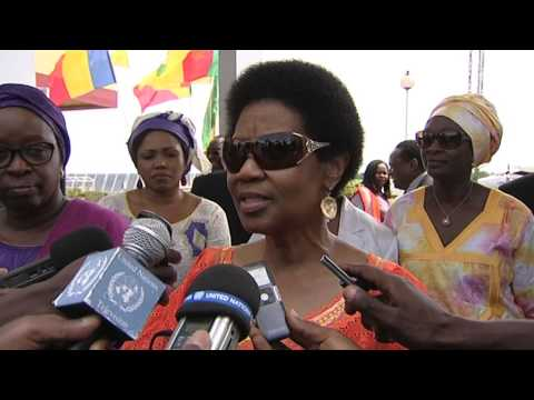 UN and AU Women Leaders visit-Central African Republic