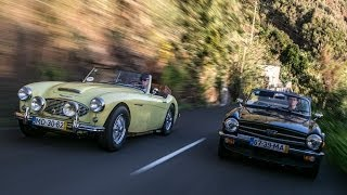 Classics - Austin Healey vs. Triumph TR6