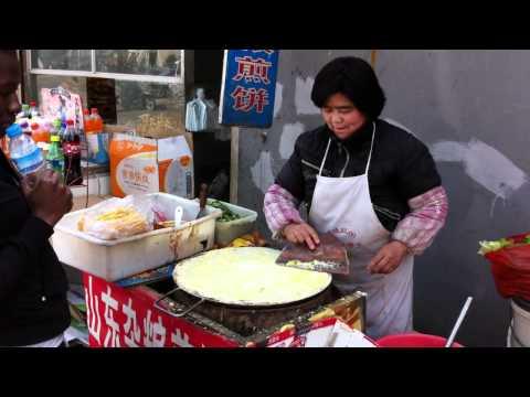 Jian Bing en Chine