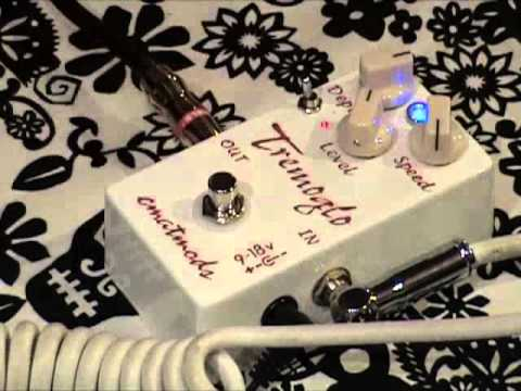 Cmatmods Tremoglo Guitar Effects Pedal