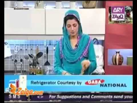 Tawa Pasanday by Chef Tahira Mateen