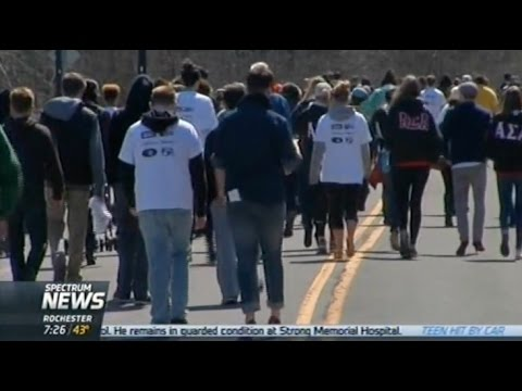 RIT on TV: Heel Violence Walk