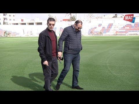 ملعب سانية الرمل جاهز لاستقبال ديربي الشمال (شاهد الفيديو)