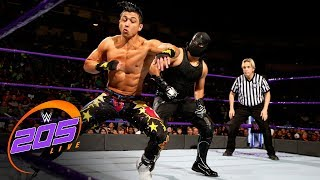 Gran Metalik vs. TJP: WWE 205 Live, Jan. 9, 2018