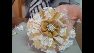 How To Make Easy Shabby Chic Flowers