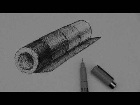 Pen & Ink Tutorial | How to shade different local values