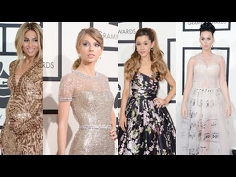 Grammy Awards 2014 -- Best Dressed At The Red Carpet -- Taylor Swift, Katy Perry Look Beautiful
