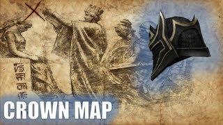 Infinity Blade 2 How To Get Vile Helm (CROWN MAP)