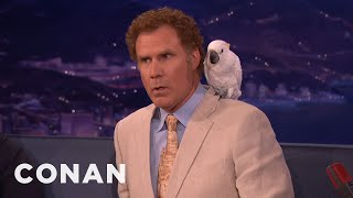 Will Ferrell: Don't Talk about Professor Feathers
