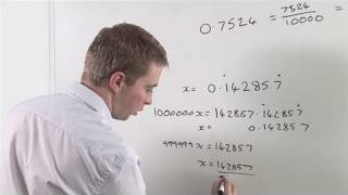 How To Convert Decimal Numbers To Fractions