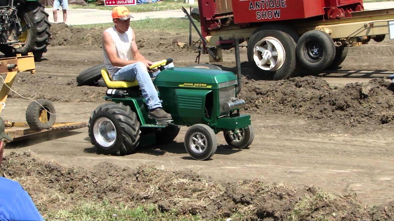 Douglas Garden Tractor Pulling Wheels : John deere pulling tractor for sale youtube