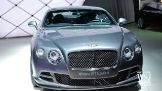 Bentley Bets On Speed, Affordability, and Hybrids