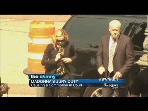 SKINNY: Madonna Is Called Into Jury Duty