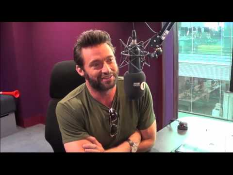 Hugh Jackman joins Grimmy for a chat about his new movie The Wolverine