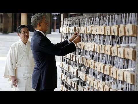 "Obama - Asia tour: The US' ""commitment to Japan's security is absolute"""