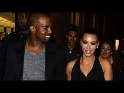 Kim Kardashian & Kanye West CAUGHT Getting INTIMATE