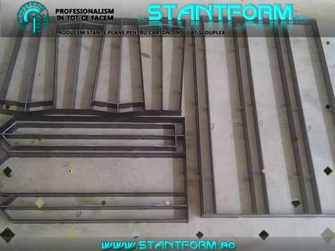 Stantform.Srl-produce stante (matrite) tipografice pentru carton ondulat, duplex, Mus, PVC