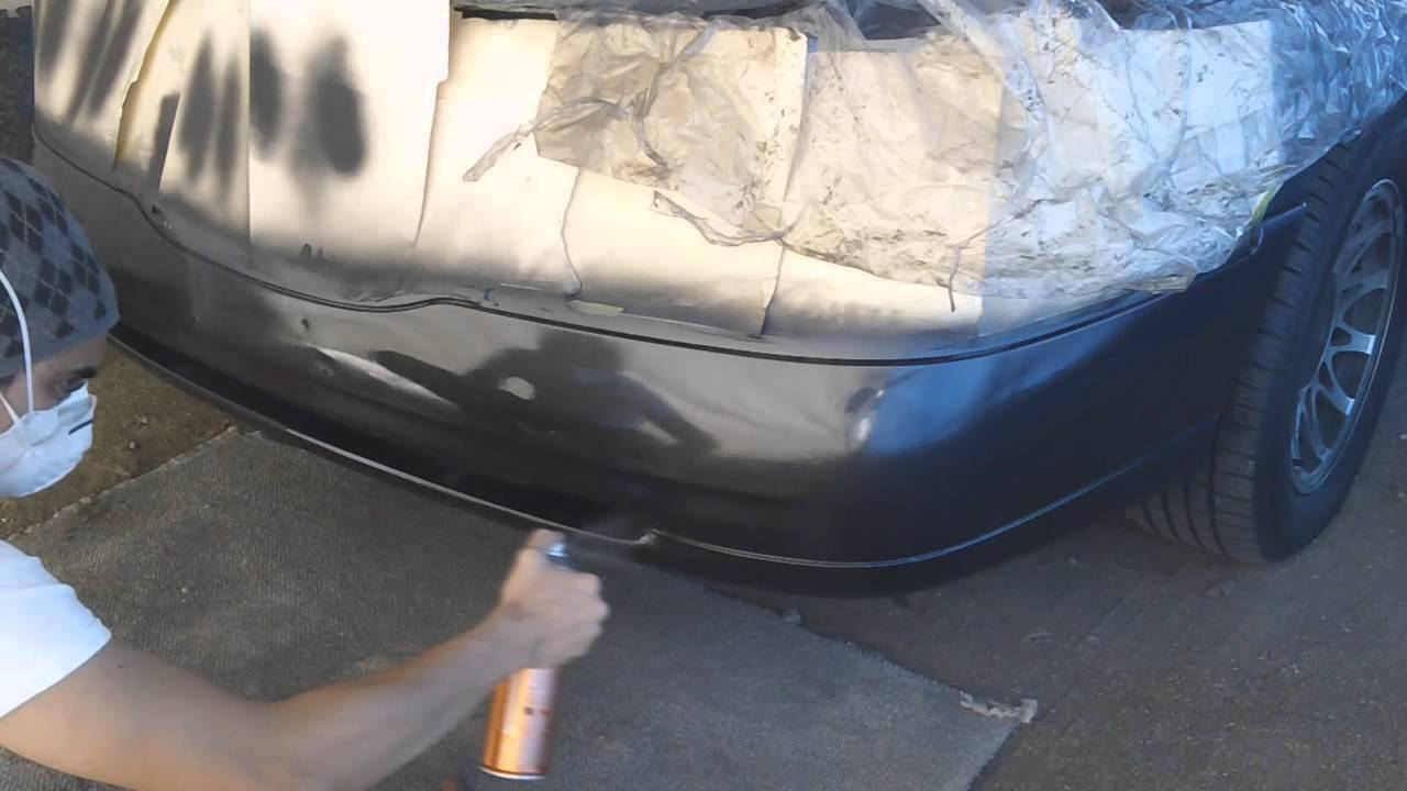 painting a car part using spray cans part 2 clear coat. Black Bedroom Furniture Sets. Home Design Ideas