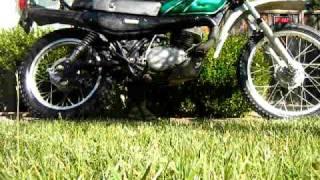 1978 Kawasaki KE250 Start Up