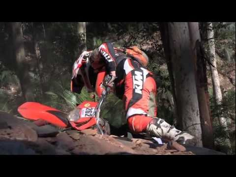 Funny dirt bike hill climb - Pork Chop Hill