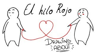 EL HILO ROJO DEL DESTINO❣ | Drawing About