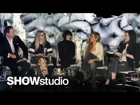 View SHOWstudio - Live panel discussion - Iris Van Herpen Womenswear A/W 14