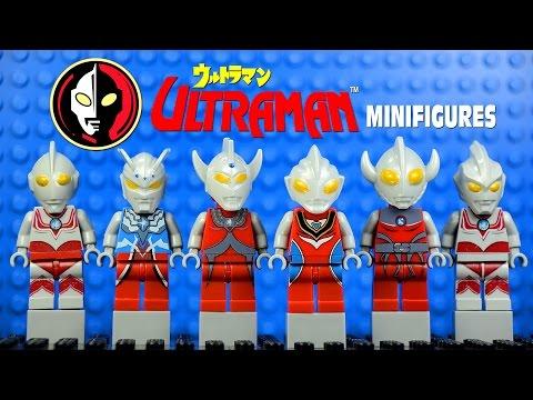 LEGO Ultraman ウルトラマン Anime KnockOff Minifigures